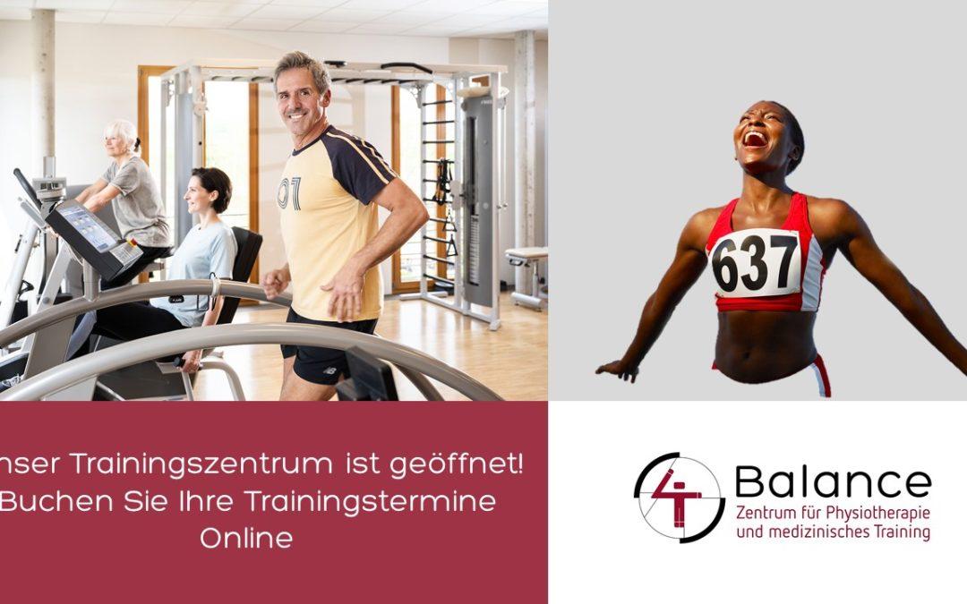 Trainingstermine online buchen